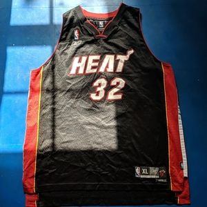 Vintage NBA Reebok Shaquille O'Neal Miami Heat